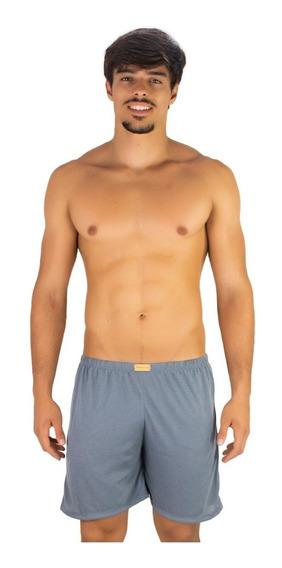 Kit 5 Short Curto Masculino Pijama De Dormir Tecido Malha