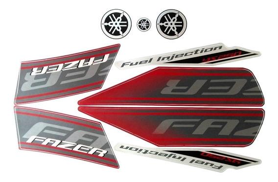 Faixas / Kit Adesivos Fazer 250 Ys 2011 Vermelha