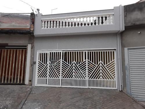 Imagem 1 de 22 de Sobrado Com 3 Dormitórios À Venda, 150 M² - Jardim Las Vegas - Santo André/sp - So20270