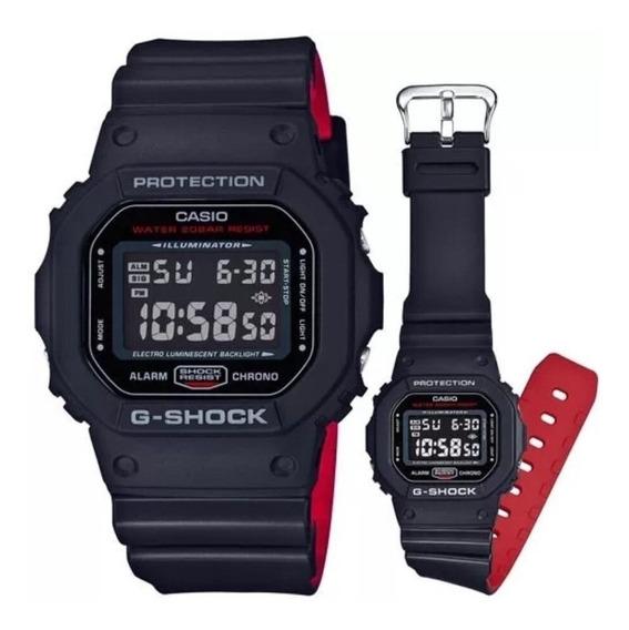 Relógio Casio G-shock Dw-5600hr-1dr Original Na Lata E Caixa