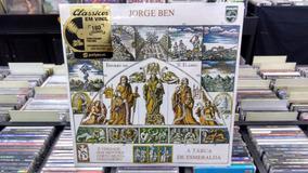 Lp - Jorge Ben - Tábua De Esmeralda - Lacrado - Polysom