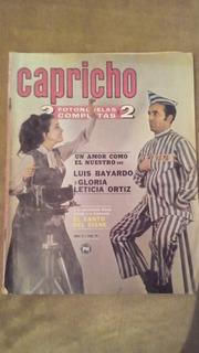 Luis Bayardo Y Gloria Ortiz En Fotonovela Capricho Doble