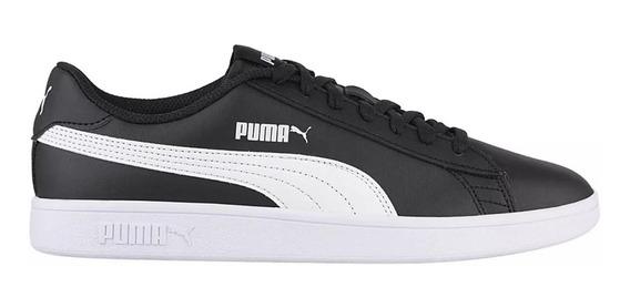 Zapatillas Puma Moda Smash V2 L Hombre Ng/bl