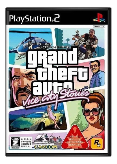 Grand Theft Auto Vice City Stories Ps2 Japonês Mídia Física