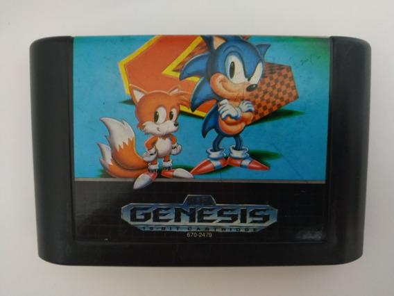 Sonic The Hedgehog 2 Original Sega Mega Drive Genesis