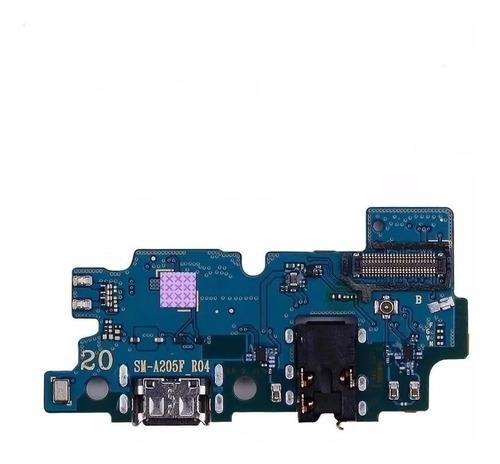 Placa De Carga Samsung A20 Galaxy A20 A205 A205f Pin Carga