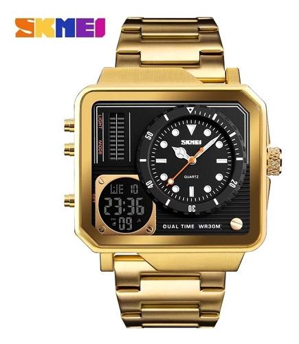 Relógio Masculino Skimei  Luxo Digital Funcional
