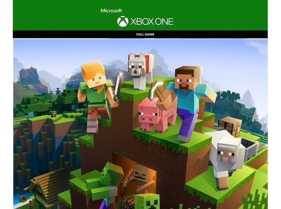 Minecraft Xbox One Cd Key - Código De 25 Digitos
