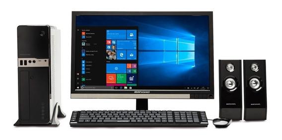 Pc Completa Banghó Cross Intel I5 8gb Ssd 240gb 22¨ Win10