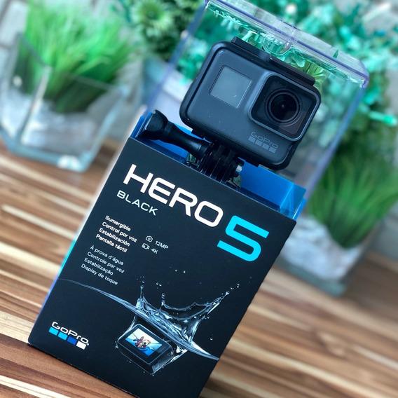 Gopro Hero 5 Black + Controle + Caixa Estanque + Acessórios
