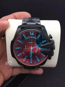 Relógio Dz4318 Preto Camaleão Frete Grátis + Caixa