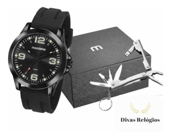 Kit Relógio Mondaine Masculino Original