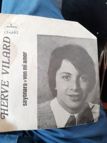 Vinilo Single - Herve Vilard --sayonara ( I39