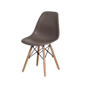 Cadeira De Jantar Charles Eiffel Eames Base Madeira Wood