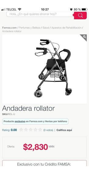 Andadera Rollator,!!