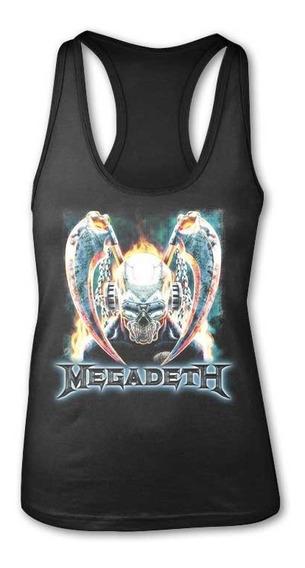 Blusa Megadeth Rock Metal, Unitalla