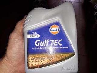 Aceites Semi Sintético 15w - Y 40 20w - 50 Gulf
