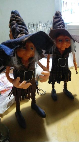 Duendes Articulados Mini Sabios 18cm Aprox Porcelana Fría