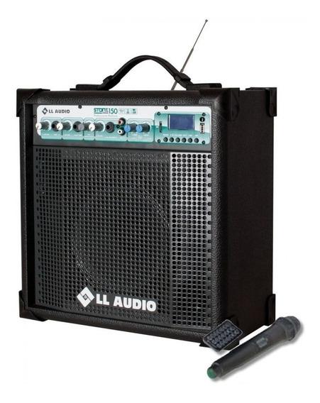 Caixa De Som Amplificada Multiuso Stone 150 Fm/usb/blueto...