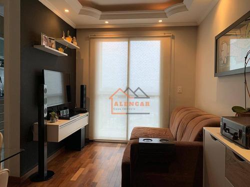 Imagem 1 de 30 de Apartamento Com 2 Dormitórios À Venda, 50 M² Por R$ 318.000,00 - Vila Ré - São Paulo/sp - Ap0357