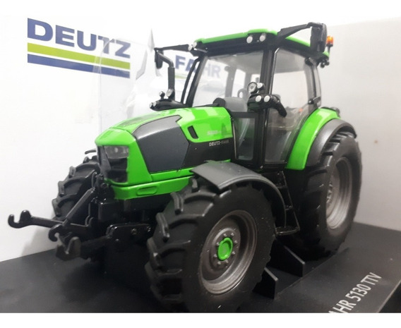 Miniatura Trator Agrícola Deutz-fahr 5130 - Escala 1/32