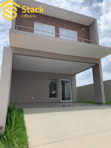 Casa Nova Com 3 Dormitórios, À Venda No Condomínio Reserva Da Mata No Bairro Corrupira Em Jundiaí/sp. - Ca01491