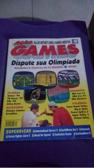 Revista Ação Games Nº 105 Julho 1996 Ótimo Estado