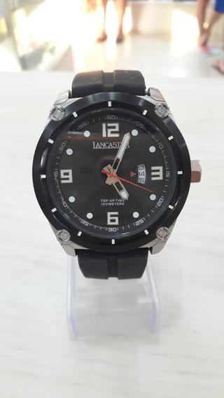 Relógio Lancaster Pulseira De Borracha
