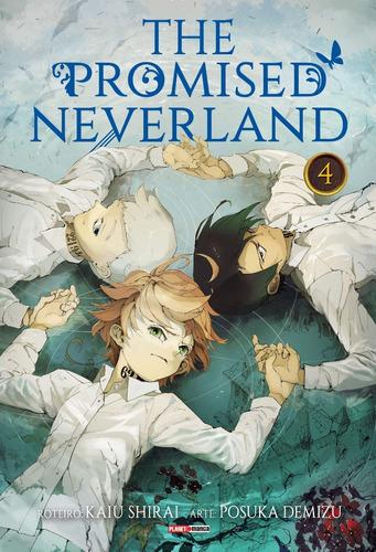 The Promised Neverland 4! Mangá Panini! Novo E Lacrado!