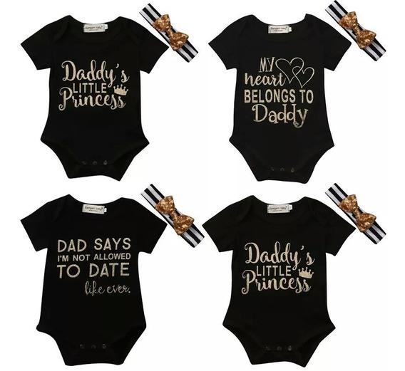 2 Camisetas, Pañaleros Bebe 1 Diadema