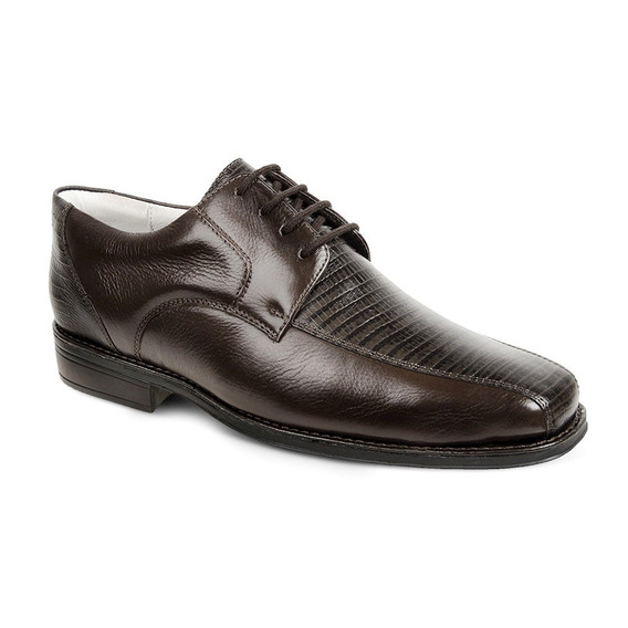 Sapato Social Masculino Derby Sandro Moscoloni Bolton Marrom
