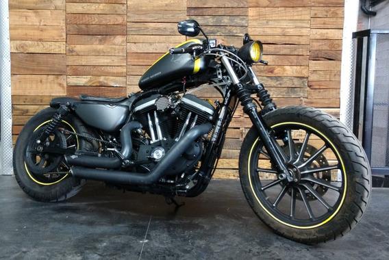 Harley Davidson Sportster 883 Iron 2010 Bobber Uc
