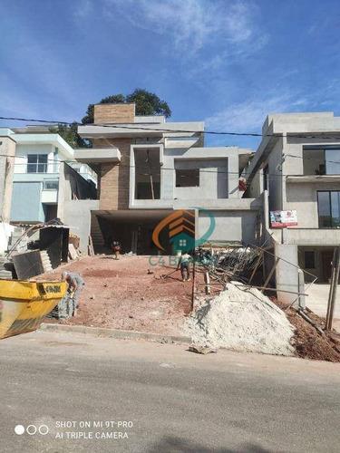 Casa Com 3 Dormitórios À Venda, 187 M² Por R$ 1.600.000,00 - Parque Residencial Itapeti - Mogi Das Cruzes/sp - Ca0177
