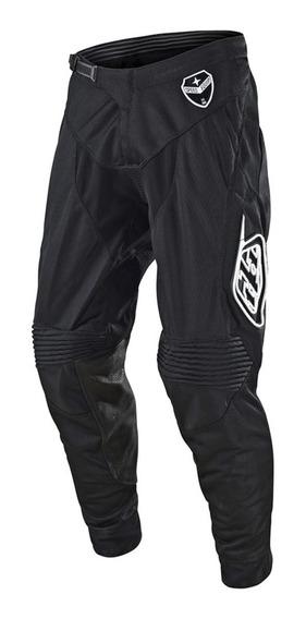 Pantalon Motocross Troy Lee Se Air Solo Negro