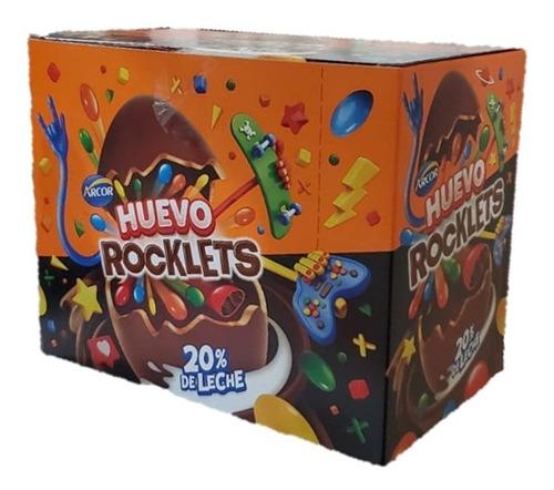 Huevo Rocklets (tipo Kinder) 28g X 12u En Golosinar