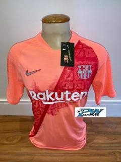 Pronta Entrega: Camisa Barcelona Rosa 2019 #10 Messi