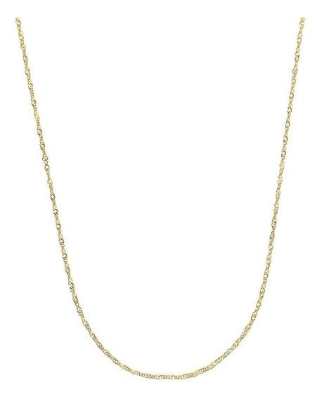 Cordão Cartier 45 Cm Banhado A Ouro 18k