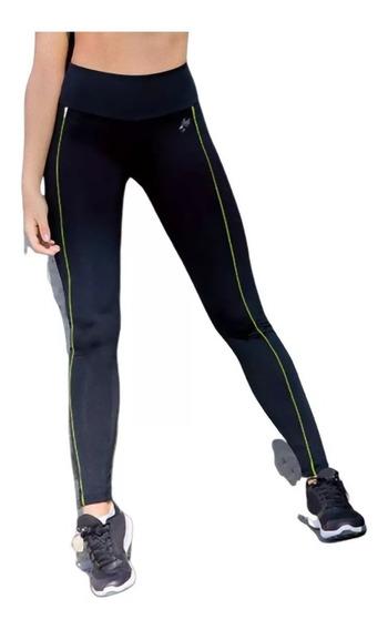 Calzas Deportivas Mujer Con Vivo Neon Lycra Shedyl 6180