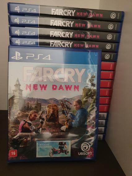 Ps4 Farcry Far Cry New Dawn Novo Mídia Física Em Português