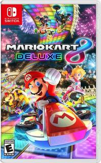 Mario Kart 8 Deluxe Nintendo Switch Nuevo!!!