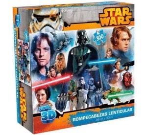 Star Wars: Rompecabezas Lenticular Super 300 Pzas.