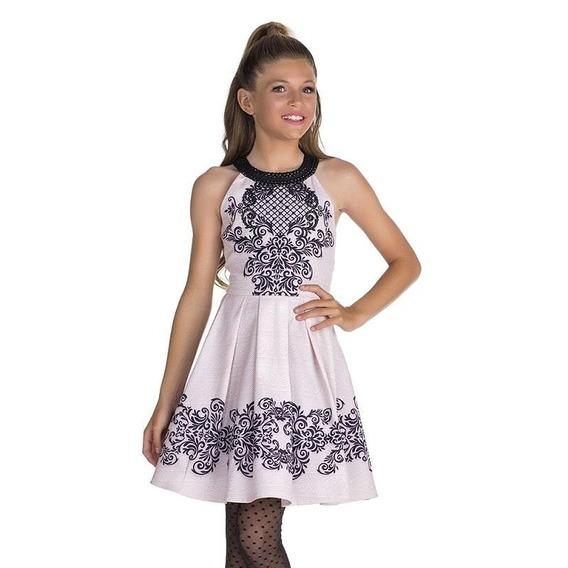 Vestido Criança Infantil Roupa Menina Super Luxo Diforini