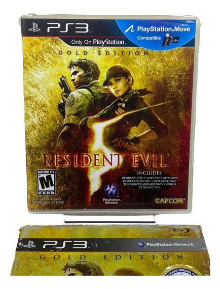 Jogo Resident Evil 5 (gold Edition) - Ps3 Midia Fisica