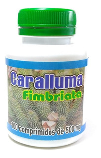 Caralluma Fimbriata Emagrecedor 100 Cáps. 500mg Original