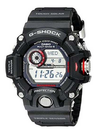 Relógio G-shock Gw-9400-1dr Preto Rangeman - Filme Resgate
