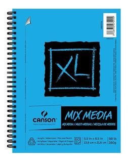 Canson Cuaderno De Dibujo Acuarela Y Medios Secos Canson