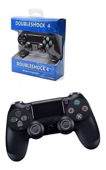 Controle Joystick Com Fio Doubleshock Para Ps4 Led Usb