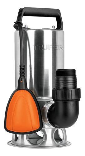 Bomba Sumergible Para Agua Sucia 1 Hp, Acero Inox -  Truper