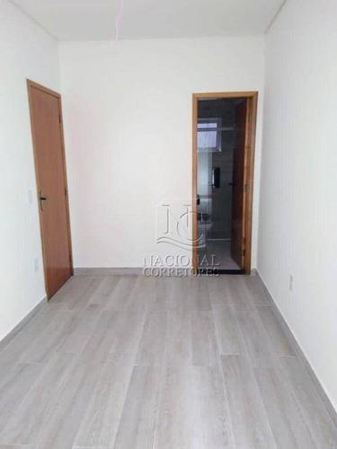 Cobertura Com 2 Dormitórios À Venda, 100 M² Por R$ 400.000,00 - Vila Camilópolis - Santo André/sp - Co3581