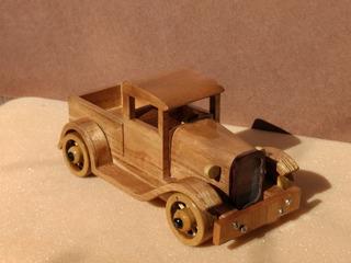 Ford A De Madera